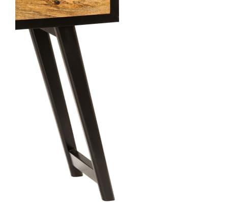 vidaXL Skrivebord heltre mango 120x40x76 cm[9/14]