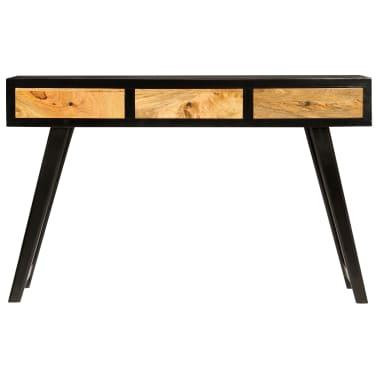 vidaXL Skrivebord heltre mango 120x40x76 cm[2/14]