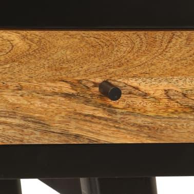 vidaXL Skrivebord heltre mango 120x40x76 cm[6/14]