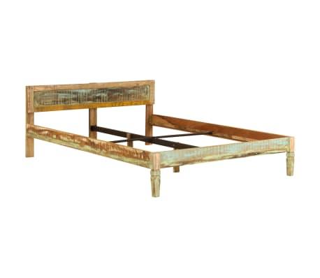 vidaXL Cadru de pat, 160 x 200 cm, lemn masiv de mango[11/16]