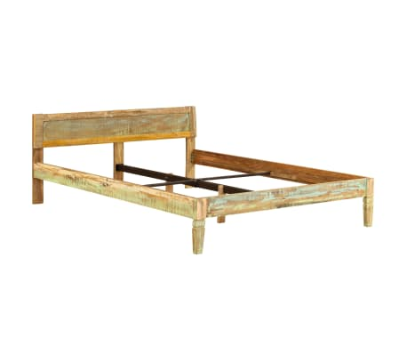vidaXL Cadru de pat, 160 x 200 cm, lemn masiv de mango[13/16]