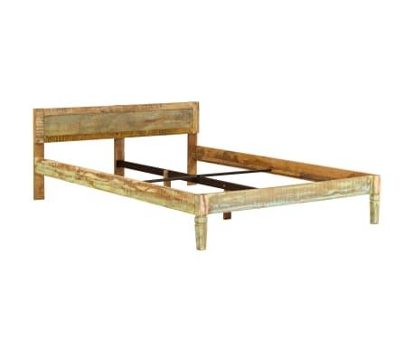 vidaXL Cadru de pat, 160 x 200 cm, lemn masiv de mango[14/16]