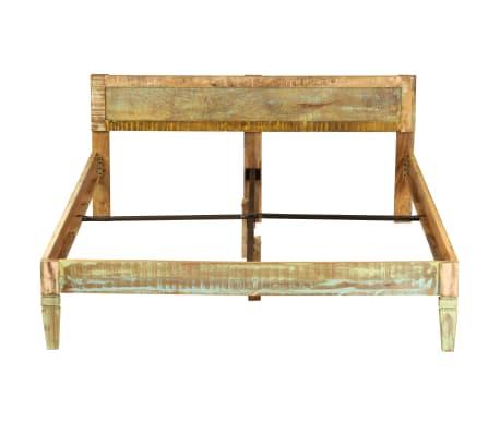 vidaXL Cadru de pat, 160 x 200 cm, lemn masiv de mango[3/16]