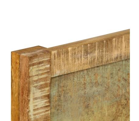 vidaXL Cadru de pat, 160 x 200 cm, lemn masiv de mango[6/16]