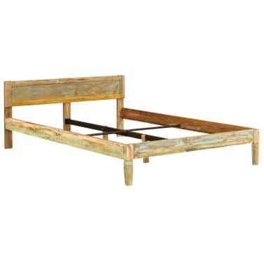 vidaXL Cadru de pat, 160 x 200 cm, lemn masiv de mango[12/16]