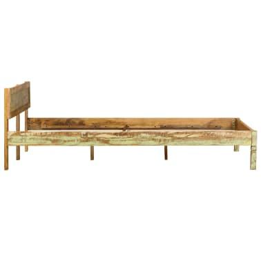 vidaXL Cadru de pat, 160 x 200 cm, lemn masiv de mango[4/16]