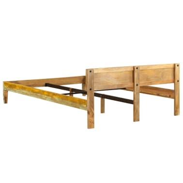 vidaXL Cadru de pat, 160 x 200 cm, lemn masiv de mango[5/16]