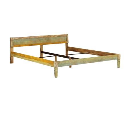 vidaXL tömör mangófa ágykeret 180 x 200 cm[11/15]