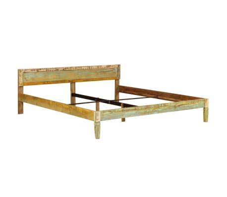 vidaXL tömör mangófa ágykeret 180 x 200 cm[13/15]