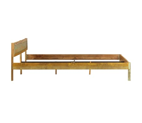 vidaXL Bed Frame Solid Mango Wood 180x200 cm 6FT Super King[4/15]