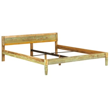 vidaXL Bed Frame Solid Mango Wood 180x200 cm 6FT Super King[12/15]