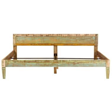 vidaXL tömör mangófa ágykeret 180 x 200 cm[3/15]