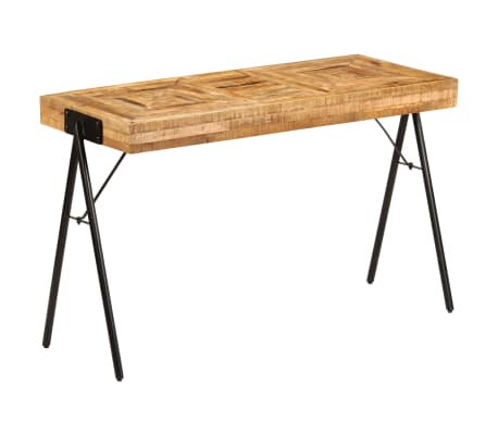 vidaXL Schreibtisch Massivholz Mango 118 x 50 x 75 cm[11/13]