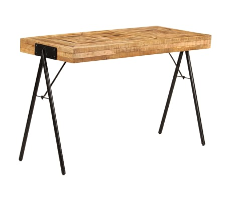 vidaXL Schreibtisch Massivholz Mango 118 x 50 x 75 cm[13/13]