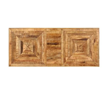 vidaXL Schrijftafel 118x50x75 cm massief mangohout[5/13]