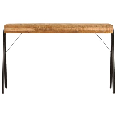 vidaXL Schreibtisch Massivholz Mango 118 x 50 x 75 cm[2/13]