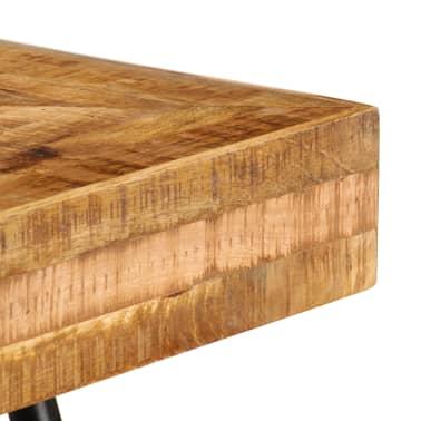 vidaXL Schrijftafel 118x50x75 cm massief mangohout[7/13]