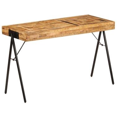 vidaXL Schreibtisch Massivholz Mango 118 x 50 x 75 cm[10/13]