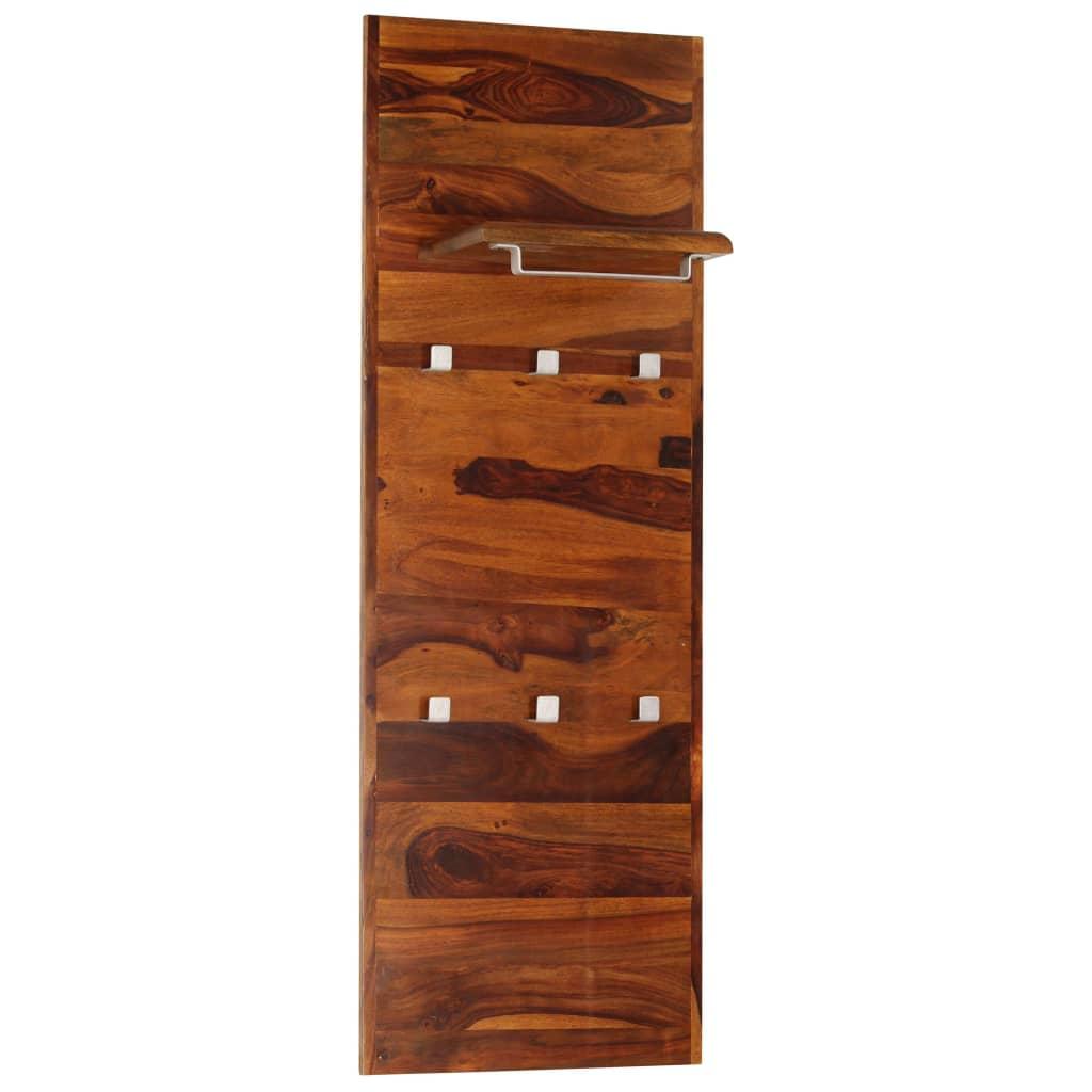 Věšák 118 x 40 cm masivní sheeshamové dřevo