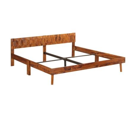 vidaXL Cadru de pat, 180 x 200 cm, lemn masiv de sheesham[14/16]