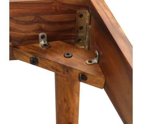 vidaXL Cadru de pat, 180 x 200 cm, lemn masiv de sheesham[6/16]