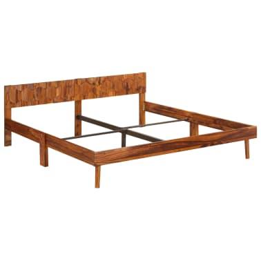 vidaXL Cadru de pat, 180 x 200 cm, lemn masiv de sheesham[13/16]