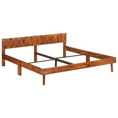 vidaXL Cadru de pat, 180 x 200 cm, lemn masiv de sheesham[15/16]