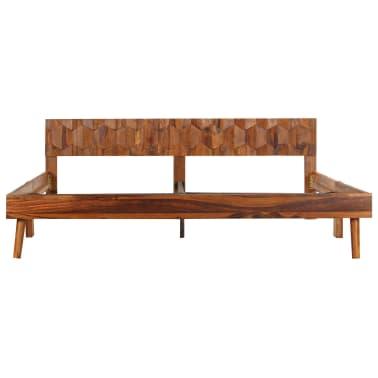 vidaXL Cadru de pat, 180 x 200 cm, lemn masiv de sheesham[3/16]