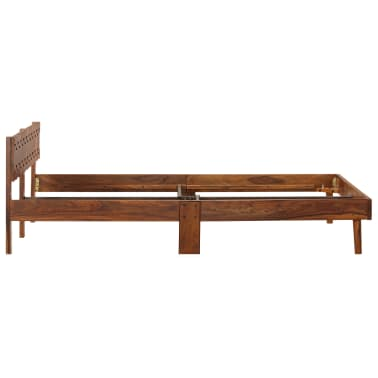 vidaXL Cadru de pat, 180 x 200 cm, lemn masiv de sheesham[4/16]