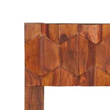vidaXL Cadru de pat, 180 x 200 cm, lemn masiv de sheesham[7/16]