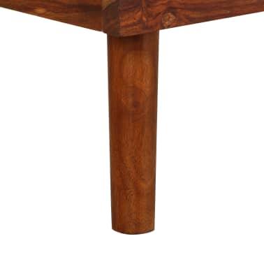 vidaXL Cadru de pat, 180 x 200 cm, lemn masiv de sheesham[8/16]