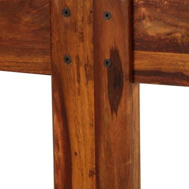 vidaXL Cadru de pat, 180 x 200 cm, lemn masiv de sheesham[9/16]