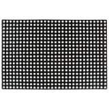 vidaXL Rubbermat 16 mm 80x120 cm
