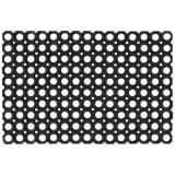 vidaXL Rubbermatten 23 mm 40x60 cm 5 st