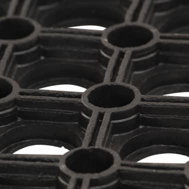 vidaXL Predpražniki iz gume 5 kosov 23 mm 40x60 cm[3/5]