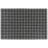 vidaXL Rubbermat 23 mm 80x120 cm