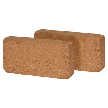 vidaXL Kokosfaser-Blöcke 20 Stk. 650 g 20 x 10 x 4 cm[2/2]