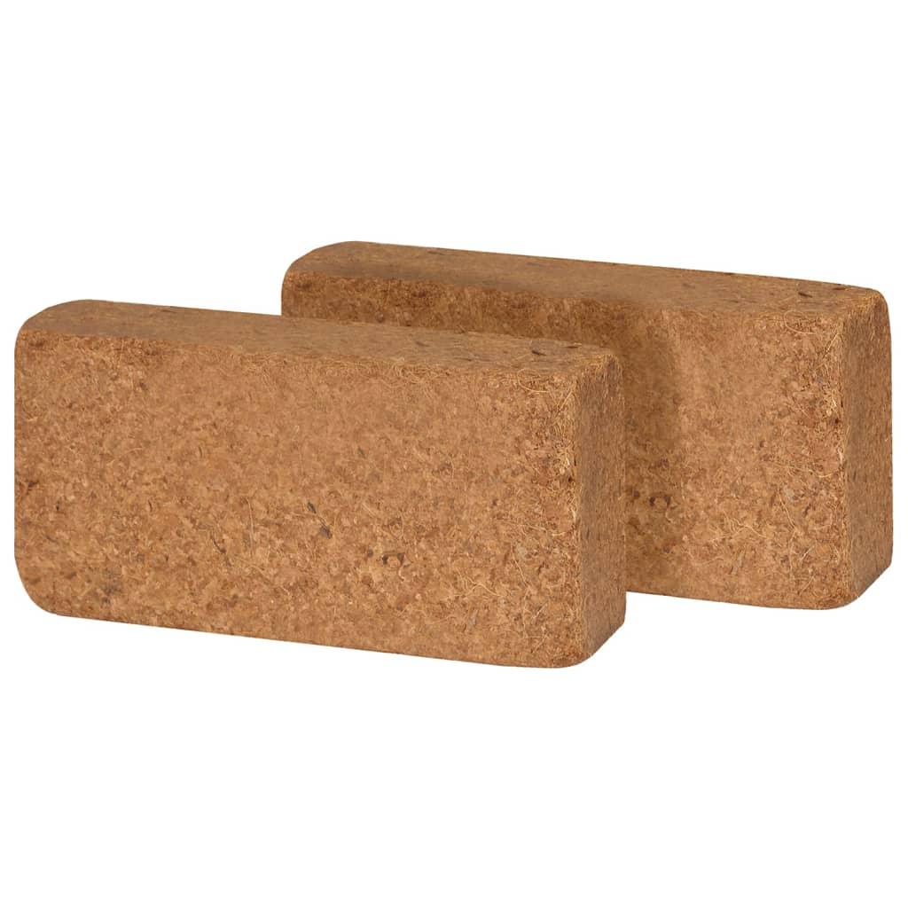 vidaXL Kokosblokken 650 g 20x10x4 cm 40 st
