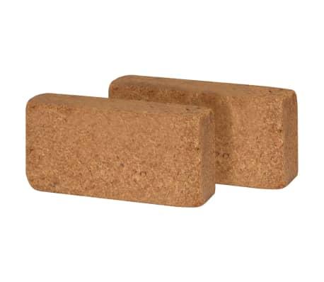 vidaXL Kokosfaser-Blöcke 40 Stk. 650 g 20 x 10 x 4 cm[2/2]