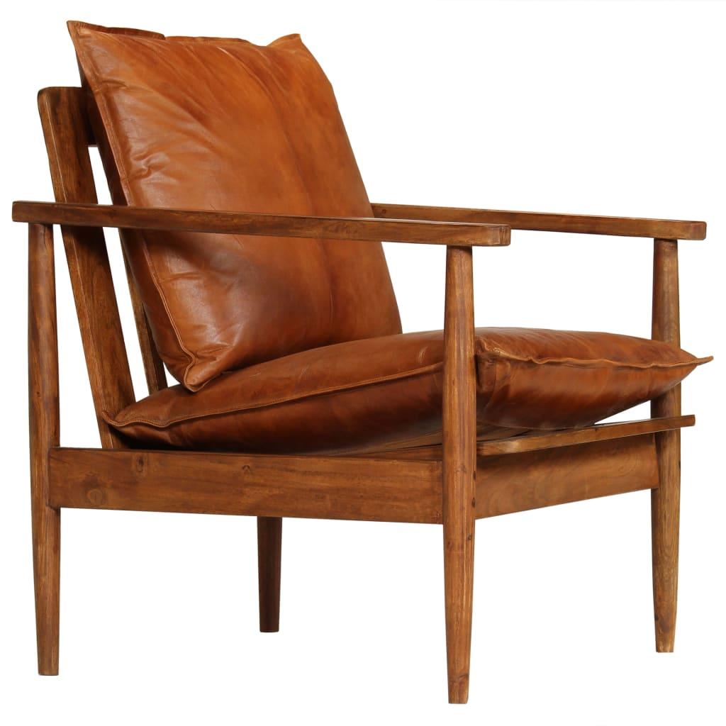 Deze luxe fauteuil is een gezellige plek om te praten, te lezen, tv te kijken of gewoon te ontspannen. Hij zorgt voor een lichte retro en warme sfeer in je woonkamer.