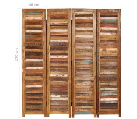 vidaXL Kambario pertvara, perdirbtos medienos masyvas, 170cm[9/13]