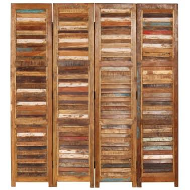 vidaXL Kambario pertvara, perdirbtos medienos masyvas, 170cm[2/13]