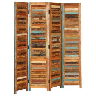 vidaXL Kambario pertvara, perdirbtos medienos masyvas, 170cm[3/13]