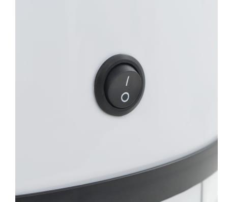 vidaXL Coș de gunoi cu senzor, 42 L, alb[8/8]
