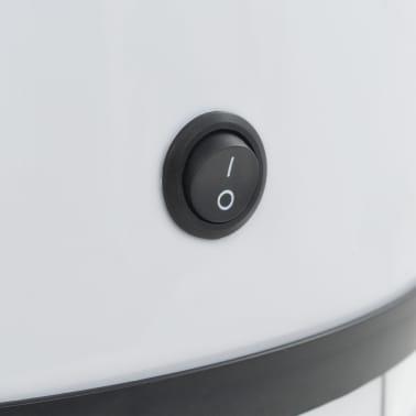 vidaXL Coș de gunoi cu senzor, 62 L, alb[8/8]