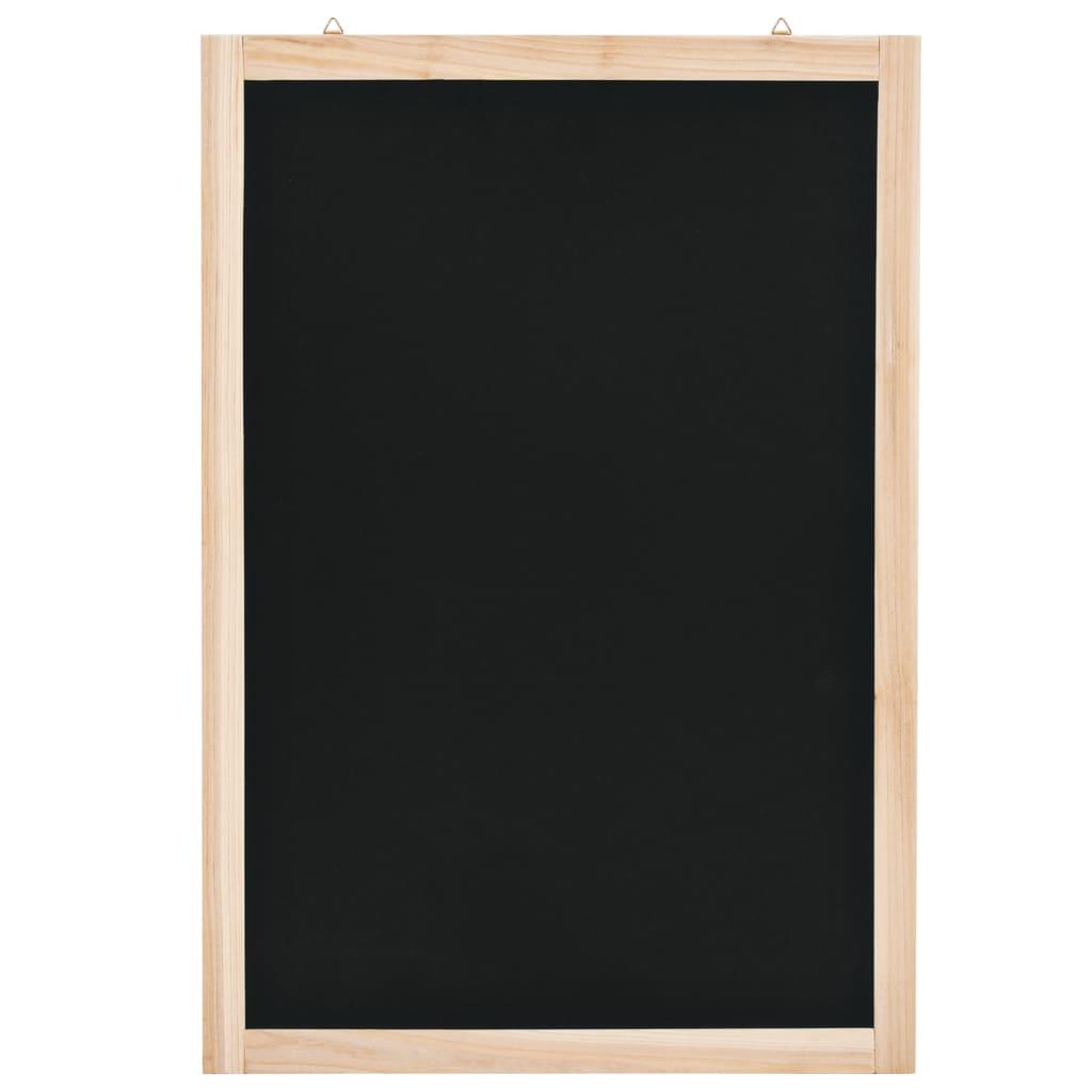 vidaXL Nástěnná tabule z cedrového dřeva 40 x 60 cm