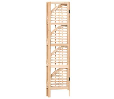 vidaXL Kampinė lentyna, kedro mediena, 27x27x110cm[3/6]