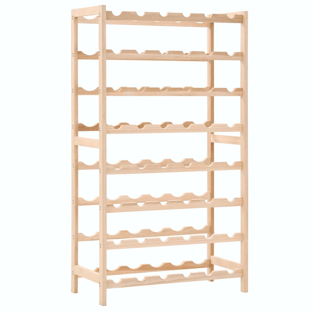 vidaXL Stojan na víno z cedrového dřeva 57,5 x 28 x 102 cm