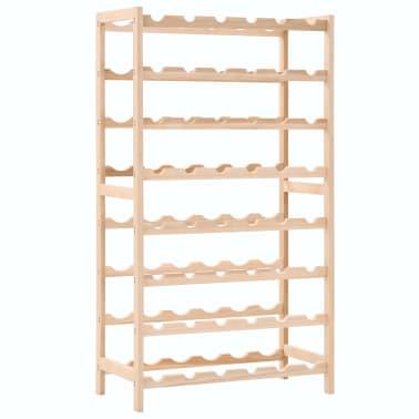 vidaXL Stojalo za vino iz cedrovine 57,5x28x102 cm[1/7]