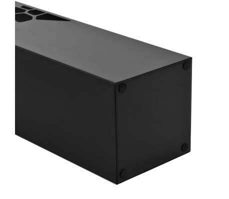 vidaXL Regenschirmständer Steinen-Design Stahl Schwarz[3/5]